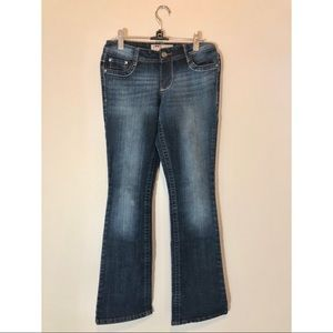 Lei Low-rise Bootcut Jeans Dark Wash Size 1